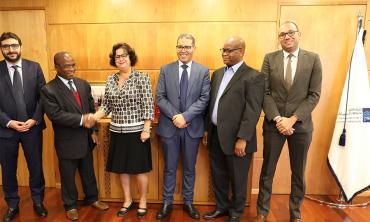 Diversification des partenariats africains Le Président du régulateur des médias du Ghana en visite de travail à la HACA.