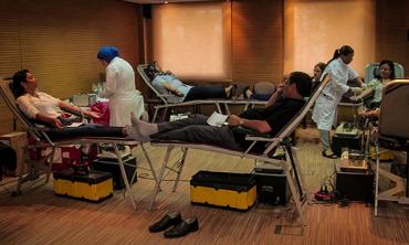 La HACA organiza una colecta de sangre  Acción ciudadana