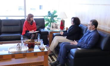 La Présidente de la HACA s'entretient avec l'Ambassadeur d'Australie au Maroc, Mme Berenice Owen-Jones