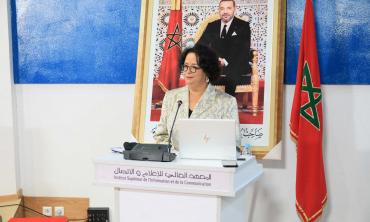 « Le défi premier de la régulation des contenus médiatiques numériques est de réguler sans porter atteinte à la liberté d'expression » Mme Akharbach au cours inaugural de l'Institut Supérieur de l'Information et de la Communication
