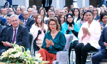S.A.R. la Princesse Lalla Meryem préside à Marrakech la cérémonie de célébration de la Journée internationale de la femme. La HACA signataire de la Déclaration de Marrakech 2020 pour la lutte contre la violence faite aux femmes