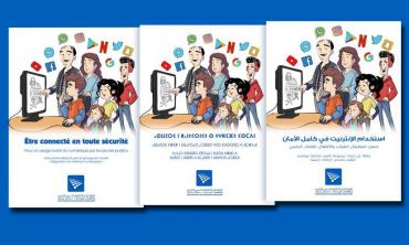 « Etre connecté en toute sécurité » Intitulé d'un guide élaboré par le groupe de travail Régulation et nouveaux médias numériques au sein du CSCA