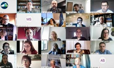 الهيأة العليا للاتصال السمعي البصري تشارك في الجمع العام الاستثنائي للشبكة الإبيرو-أمريكية لهيئات تقنين القطاع السمعي البصري
