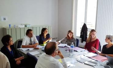 Sr. Naji participa en la reunión semestral de la Mesa del Observatorio Europeo del Audiovisual