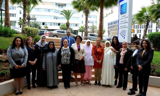 بمناسبة 08 مارس 2020 الهيأة العليا تحتفي بالمشاركة النسائية والتقنين المواطن