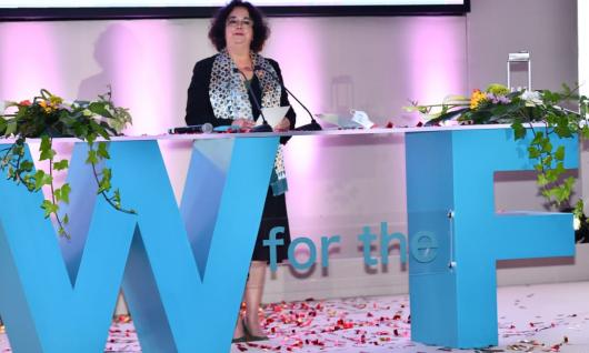 « Il est grand temps de faire évoluer le discours médiatique surles droits et le leadership des femmes »,  Latifa Akharbach,Présidente de la HACAà la cérémonie officielle de lancement de l'Année de la Femme par l'ICESCO