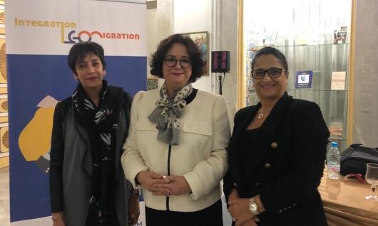 Mme Akharbach plaide depuis Tunis pour un traitement médiatique responsable de la question de la migration