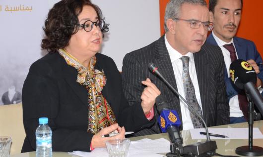 « Le traitement médiatique de la question migratoire doit être basé sur l'expertise et les principes des Droits de l'Homme » Mme Akharbach au séminaire sur Médias, droits de l'Homme et politiques migratoires  le 18 décembre 2019 à l'ISIC- Rabat