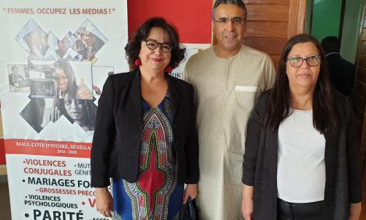 « La représentation inégale des femmes dans les médias a un coût social et démocratique » :  Latifa Akharbach à la conférence régionale « Bâtir et réguler ensemble un environnement médiatique inclusif du genre » 11-13 février, Saly au Sénégal