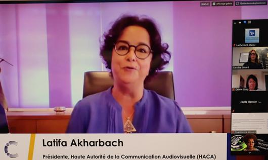 « La transformation numérique des usages médiatiques est éminemment une transformation culturelle des sociétés » Mme Latifa Akharbach au Forum International des Régulateurs