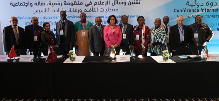 Les membres du Réseau des Instances Africaines de Régulation saluent l'engagement de Sa Majesté le Roi Mohammed VI en faveur du développement du continent africain