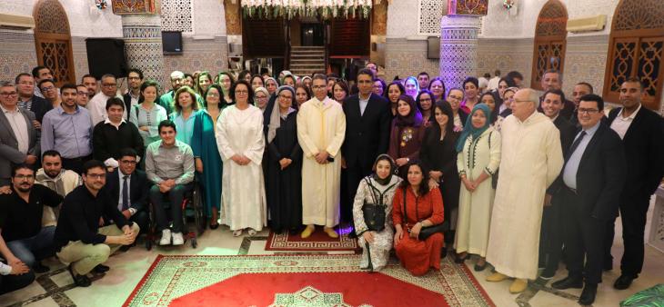 Iftar collectif et convivial en l'honneur de l'ensemble des équipes de la HACA