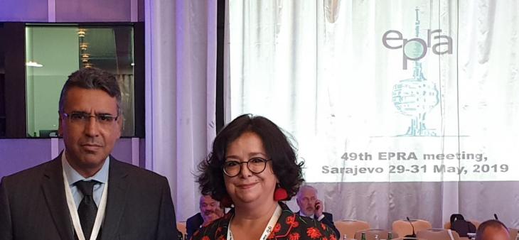 Mme Latifa Akharbach présente à Sarajevo l'expérience de la HACA en matière de lutte contre le discours de haine dans les contenus médiatiques