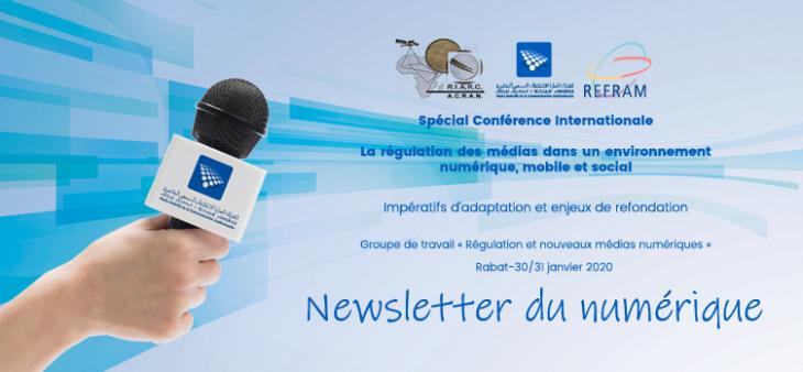 la régulation des médias dans un environnement numérique, mobile et socialUn numéro spécial de la Newsletter du numérique élaboré par le groupe de travail «Régulation et nouveaux médias numériques»