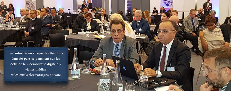 Les autorités en charge des élections dans 50 pays se penchent sur les défis de la « démocratie digitale » via les médias et les outils électroniques du vote.