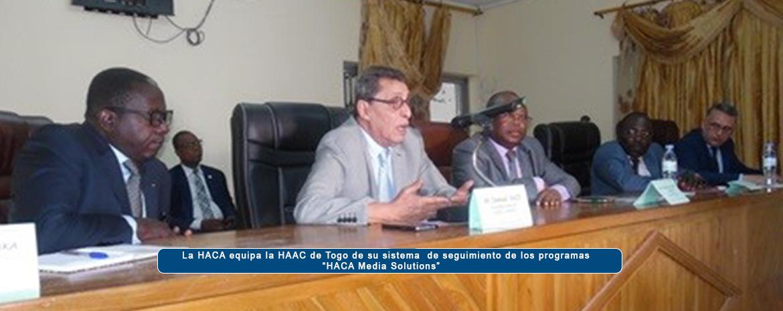 """La HACA equipa la HAAC de Togo de su sistema  de seguimiento de los programas """"HACA Media Solutions"""""""