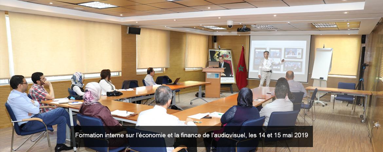 Formation interne sur l'économie et la finance de l'audiovisuel, les 14 et 15 mai 2019