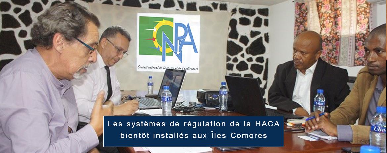 Les systèmes de régulation de la HACA bientôt installés aux Îles Comores