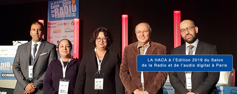 LA HACA à l'Edition 2019 du Salon de la Radio et de l'audio digital à Paris