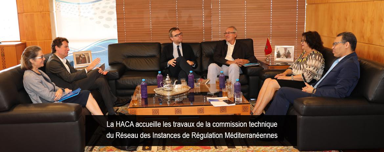Préparatifs de l'Assemblée plénière du RIRM : Réunion de travail à Barcelone entre une délégation de la HACA et le Président du Conseil de l'Audiovisuel de Catalogne
