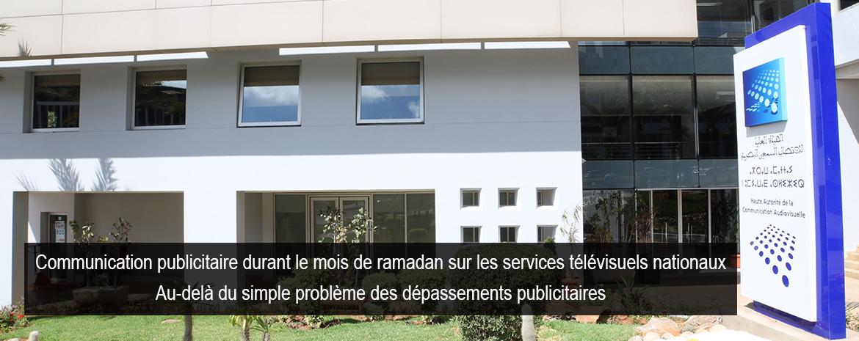Communication publicitaire durant le mois de ramadan sur les services télévisuels nationaux Au-delà du simple problème des dépassements publicitaires