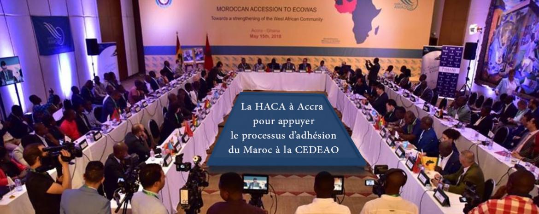 La HACA à Accra pour appuyer le processus d'adhésion du Maroc à la CEDEAO