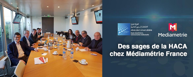 Des sages de la HACA chez Médiamétrie France