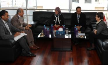 رئيسة الهياة العليا للاتصال السمعي البصري تستقبل مدير عام المكتب المغربي لحقوق المؤلفين