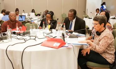 La présidente de la HACA participe, à Accra, à la troisième réunion du Comité d'Orientation du RIARC au titre du biennum 2017-18