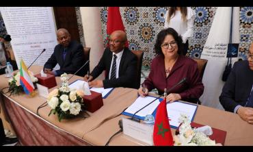 الهيأة العليا للاتصال السمعي البصري توقع اتفاقية شراكة مع نظيرتها بجمهورية القمر المتحدة