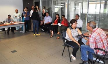 Le personnel de la HACA participe à l'opération du don de sang