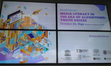 La HACA participe activement à l'édition 2018 de la semaine mondiale de l'éducation aux médias et à l'information organisée par l'UNESCO en Lituanie et en Lettonie
