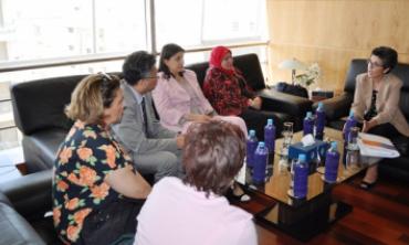 Une délégation de l'Instance Vérité et Dignité (IVD) de Tunisie en visite à la HACA