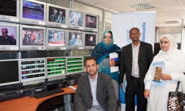 فريق من السلطة العليا للصحافة والسمعيات البصرية الموريتانية يجري تكوينا بالهيأة العليا
