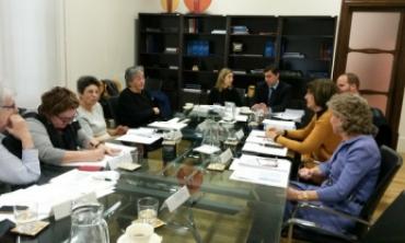 La Présidente de la HACA prend part, à Madrid, à la réunion du Groupe de Travail du RIRM ''Genre et Médias''