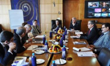 Le Président du Conseil de la Radiodiffusion et des Télécommunications Canadiennes (CRTC) en visite d'information à la HACA
