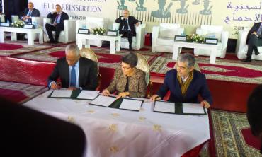 Signature d'un mémorandum d'entente entre la HACA, le DGAPR et le CNDH