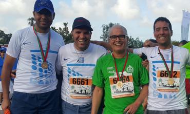 Participación de la HACA en el  Maratón Internacional de Rabat