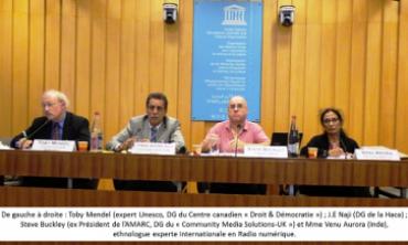 L'UNESCO réunit régulateurs, diffuseurs et associations sur « la viabilité des radios associatives »