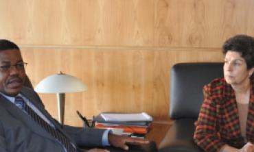 رئيسة الهيئة العليا تستقبل السيد عبد الرحمن عصمان، رئيس المجلس الأعلى للاتصال بالنيجر والرئيس الحالي للشبكة الإفريقية لهيآت ضبط الاتصال