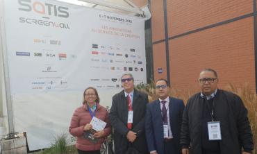 Une délégation de la HACA au SATIS-SCREEN4ALL 2018 de Paris