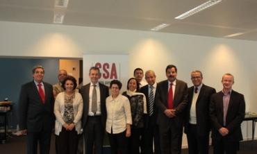 Visite du Conseil supérieur de la communication audiovisuelle du Maroc en Belgique
