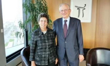 La Présidente de la HACA rencontre, à Paris, le Président du Conseil Supérieur de l'Audiovisuel