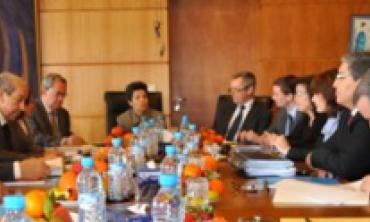 الهيأة العليا تستقبل وفدا عن المجلس الأعلى للسمعي البصري البلجيكي