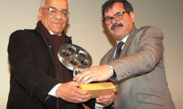 Hommage à M. Mohamed Gallaoui, membre du CSCA, au Festival National du Film de Tanger