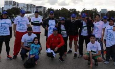Participation de la HACA au 4ème Marathon International de Rabat