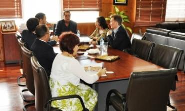 Une délégation de la Fondation Internationale pour les Systèmes Electoraux en visite à la HACA