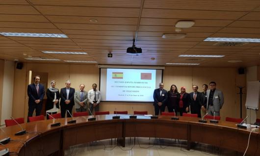 Participation de la HACA à la réunion de coordination des fréquences diffusant la télévision numérique terrestre (TNT) entre le Maroc et l'Espagne
