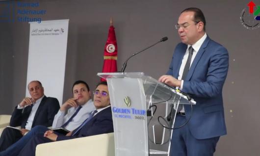 la HACA participe à Tunis au colloque international   état - médias : quelle gouvernance publique des medias en période de transition démocratique ?