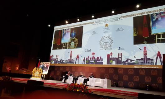 La HACA participe à la 1ère Conférence internationale sur la justice à Marrakech